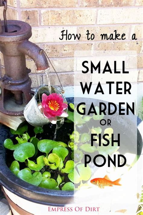 Things To Make Your Water by Best 25 Small Water Gardens Ideas On