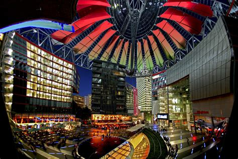 berlin centre sony center mapio net