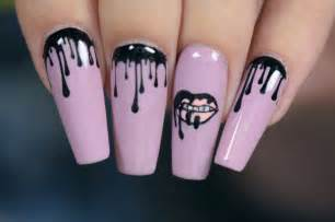 diy kylie jenner lip kit nail art design nail designs