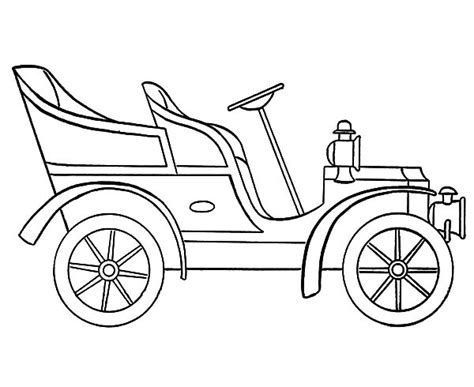 coloring page of model t car model t drawing www pixshark com images galleries with
