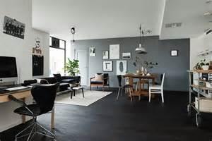parquet noir le carresol tendance bois d 233 coration