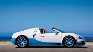 Blue And White Bugatti 2013 Bugatti Veyron Grand Sport Vitesse Specia Wallpaper