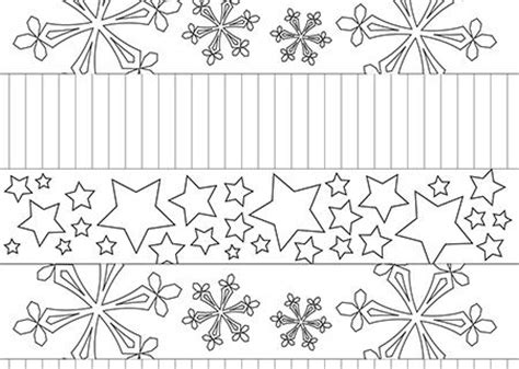 printable christmas paper chains to colour mindfulness coloring christmas paper chains coloring pages