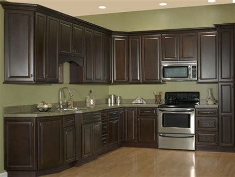 chocolate kitchen cabinet depot