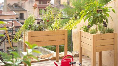 Decorer Potager by Am 233 Nager Un Petit Potager Sur Balcon 20 Id 233 Es