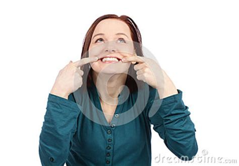 showing teeth showing teeth royalty free stock photo image 33004505