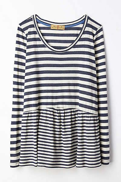 7 Striped Tops I by Peplum Anthropologie And Tees On