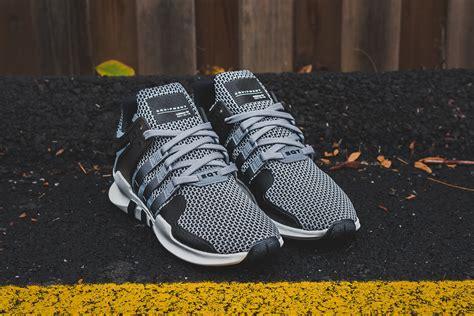 Sepatu Sneakers Adidas Originals Eqt Support Adv Black White adidas eqt support adv grey black sneaker bar detroit