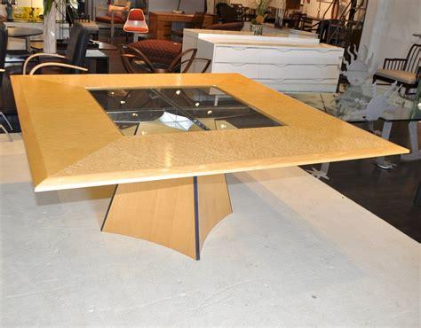Senior And Carmichael Birdseye Maple Dining Table For Sale Carmichael Dining Table