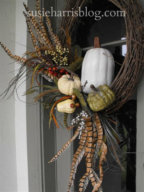 Diy Fall Wreaths Design Ideas Susie Harris Fall Wreath Diy Remake