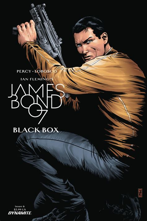 james bond black box james bond black box 6 zircher cover fresh comics