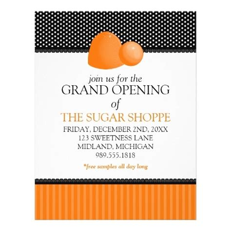 grand opening flyer template grand opening flyer template flyer ideas