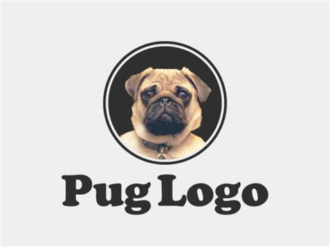 pug logo pug logo template psd psdblast