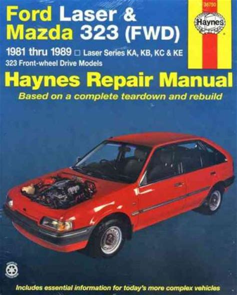 online auto repair manual 1985 ford laser electronic toll collection ford laser mazda 323 fwd 1981 1989 haynes service repair manual sagin workshop car manuals