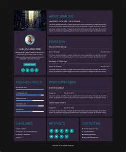Creative Resume Template 81 Free Samples Examples