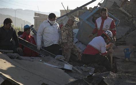 earthquake kermanshah israel offers iran iraq condolences as quake toll
