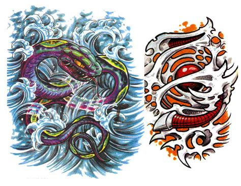 tattoo stencils designs tattoos colored stencils 3