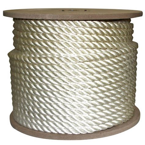 rope king 5 8 in x 300 ft twisted rope white tn