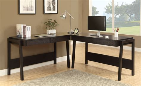 monarch specialties l shaped computer desk monarch specialties computer desk cappuccino l shaped