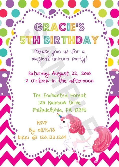 design a wedding invitation ks1 9 best images of free printable unicorn invitations