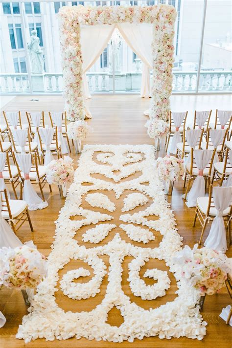 Crystal Decor For Home by Ceremony D 233 Cor Photos Intricate Flower Petal Aisle