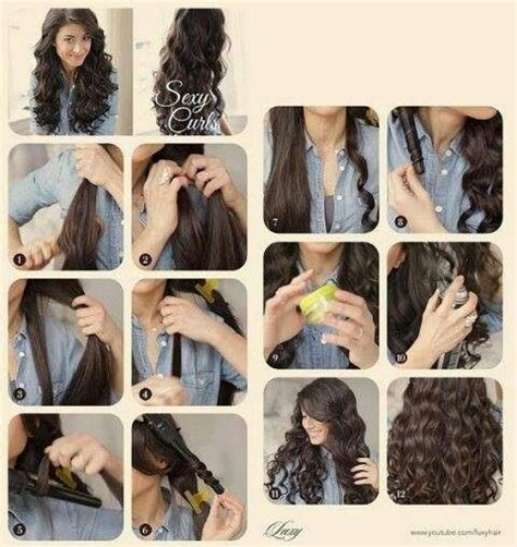nice hairstyles with the wand wand curls hair styles pinterest wand curls curls