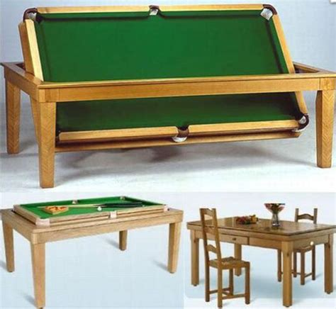 Pool Table As A Dining Table Dining Table Billiard Table Converts Dining Table
