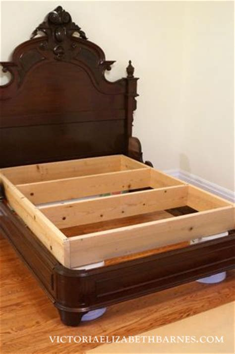 retrofitting  craigslist bed diy custom antique bed