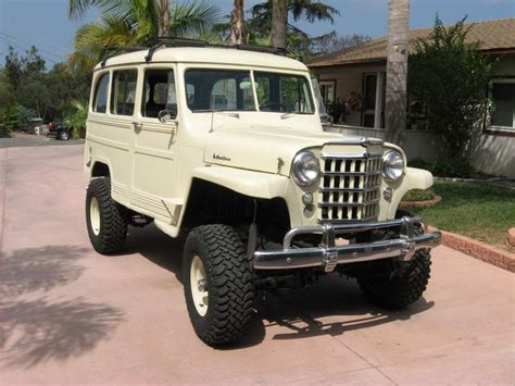 jeep willys wagon lifted 93 best willys wagons images on jeep stuff
