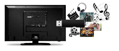 Tv Led Watt Rendah tv led ultra slim 24 pouces 48 watts usb hdmi noir