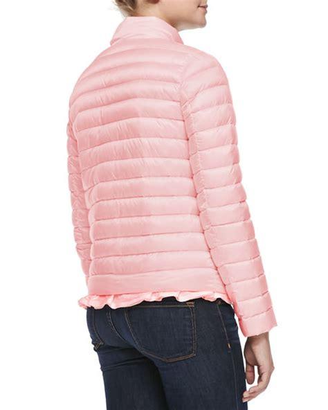 light pink moncler moncler blein puffer jacket light pink
