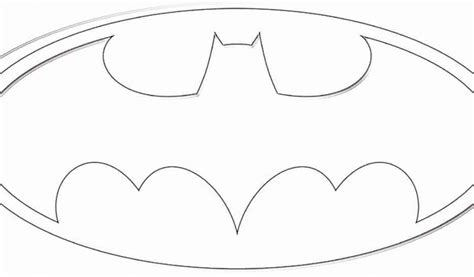 Batman Symbol Coloring Pages Batman Logo Template Coloring Pages by Batman Symbol Coloring Pages