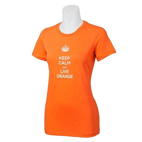 the home depot orange medium keep calm cotton t