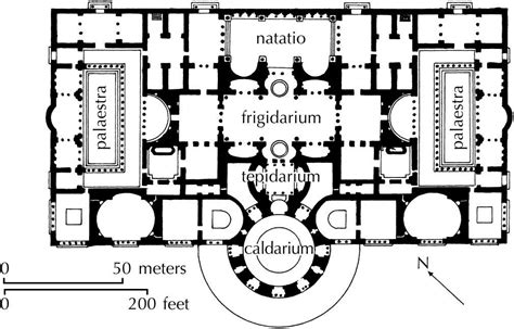 baths of caracalla floor plan rome ap art history with bethany neubauer at the archer