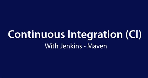 learning continuous integration with jenkins second edition a beginner s guide to implementing continuous integration and continuous delivery using jenkins 2 books meet ahsan repository of useful learning material