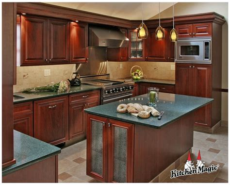cherry cabinets with quartz countertops fireside cherry wood cabinets quartz countertop