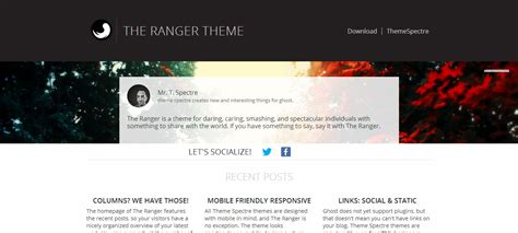blog themes for ghost 10 best ghost themes for blogging ghost blog themes