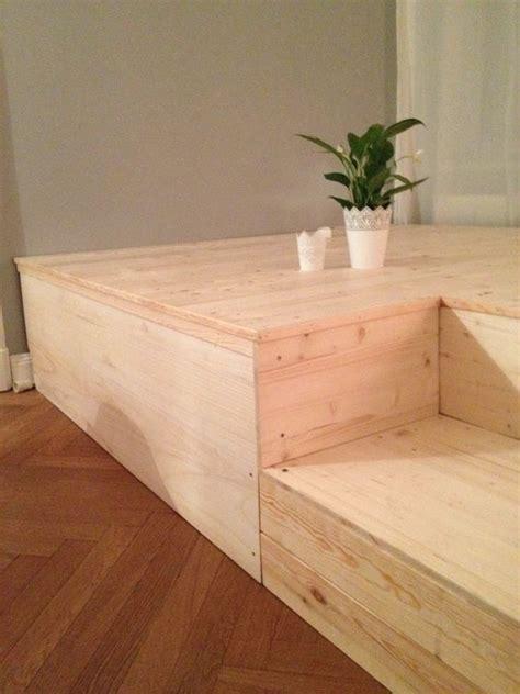 Podest Mit Bett by Selber Machen On