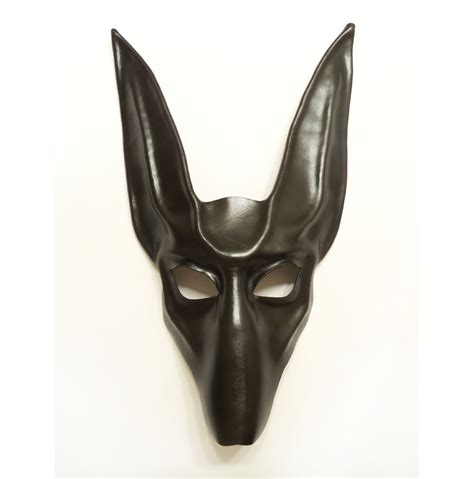 leather puppy mask black jackal leather mask anubis by teonova on deviantart