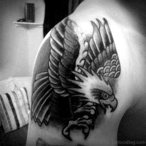 eagle tattoo on shoulder blade 72 stunning eagle tattoos on shoulder