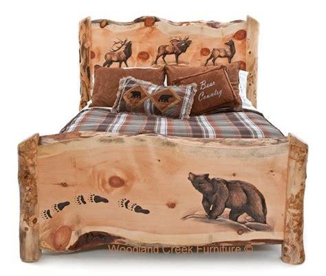 log cabin patio furniture best 25 log bed ideas on log furniture log