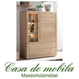 Beistelltische Holz Glas by Massivholz Highboard Links Oxford Wildeiche Massiv Bianco