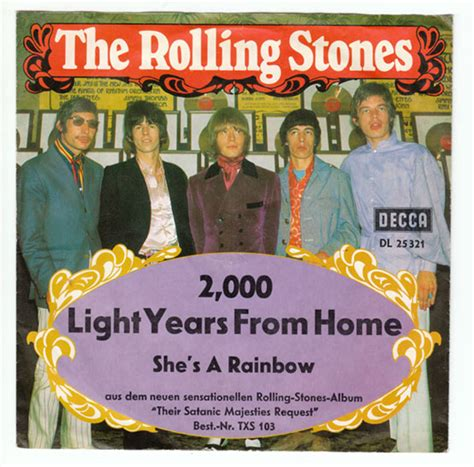 the rolling stones 2000 light years from home decca dl