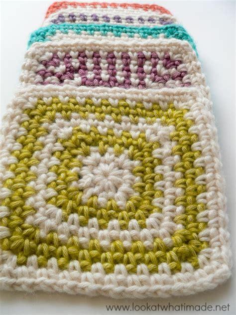 granny square pattern magic ring linen stitch granny square pattern