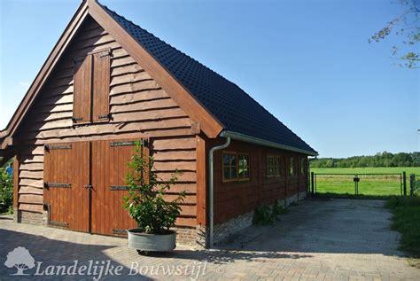 Carport Design by Garages En Schuren Van Landelijke Bouwstijl