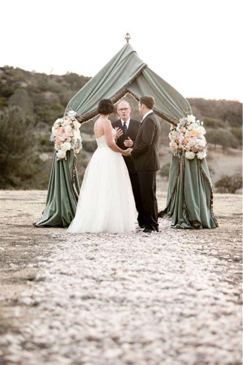 great ideas  beach wedding arches deer pearl flowers