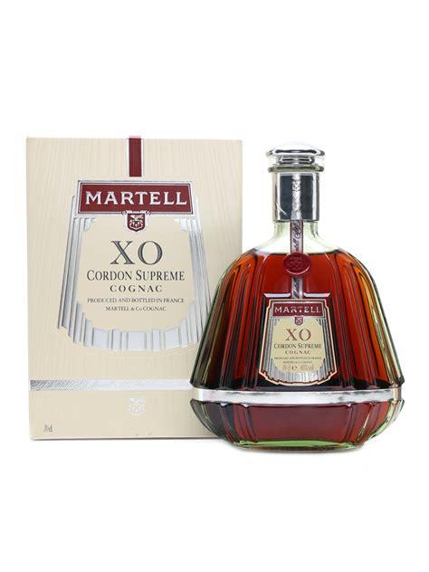 martell xo supreme cognac martell xo cordon supreme cognac lot 36643