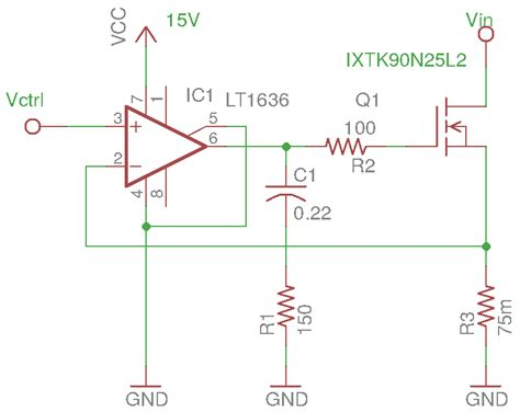 load resistor circuit design kerry d wong 187 archive 187 linear mosfet and its use in electronic load