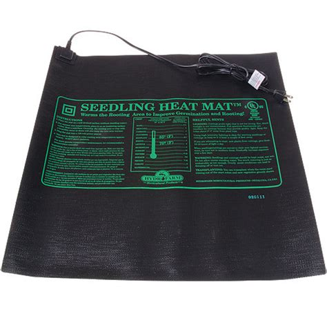 Seedling Heat Mat by Hydrofarm Seedling Heat Mat 45w Gardeners Edge