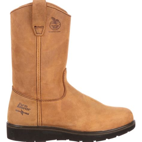 boots farm and ranch farm ranch wellington work boots boot g4432